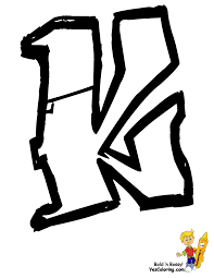 graffiti name coloring pages