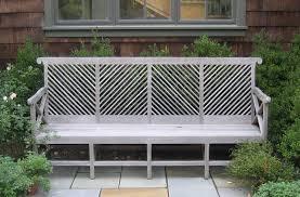 garden bench almodington bench in gray munder skiles via