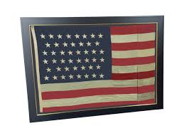 Us Colonial Flag Home Historical Americana