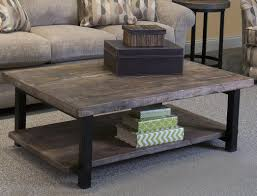 Pottery Barn Tanner Coffee Table by Rectangle Coffee Table