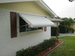 Orlando Awnings Aluminum Clamshell Awnings Replaced In Clearwater Fl West Coast