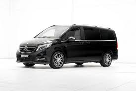 mercedes minivan official brabus mercedes benz v class gtspirit
