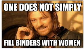 Meme Women - romney s binders full of women gaffe sparks instant internet meme