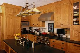what color granite goes with honey oak cabinets honey oak cabinets with black granite countertops functionalities net