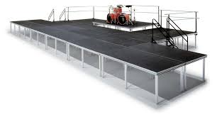 stage rental nyc portable and mobil stage rentals ny