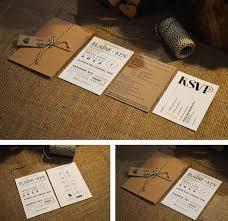 wedding invitations kraft paper kraft wedding invitations kraft wedding invitations for your
