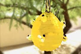 bumble bee pinata beehive pinata box play for kids
