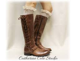 nordic woods oatmeal tweed lace boot socks scandinavian