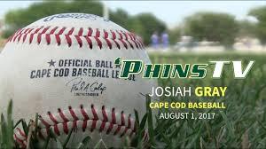 jo jo gray u0027s summer in cape cod baseball league youtube