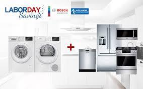 bosch labor day savings at appliancesconnection appliances