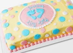 Walmart Baby Shower Decorations Cute Cake For Boy Or Showers For Pinterest Cake