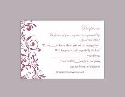 rsvp cards wedding free printable wedding rsvp card templates 28 images rsvp