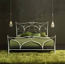 white wrought iron king bed wrought iron king bed is very chic