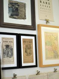 framed and matted gallery wall wall art