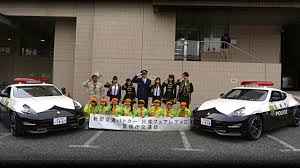 porsche japan japan police adds trio of nissan 370zs to high speed patrol