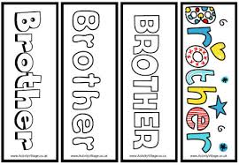 brother bookmarks