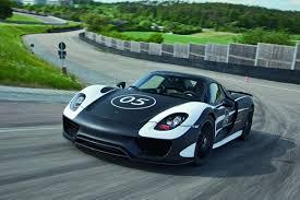 porsche hybrid supercar porsche reveals pre production 918 spyder plug in hybrid super car
