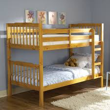 Pine Bunk Bed Shop Homelegance Todd Pine Finish Bunk Bed At Lowes