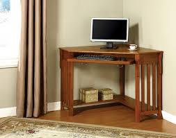 mission oak corner computer desk amazon com furniture of america athosia mission style corner