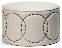 Round Cocktail Ottoman Upholstered by Round Cocktail Ottoman Upholstered Cocktail Ottoman Round