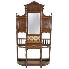 late victorian mirror back hall tree victorian mirror coat