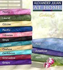 Alexander Curtains Amazon Com Alexander Julian Tab Top Drapes Panels Citrine Home