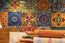 mexican tiles for kitchen backsplash my boho rental kitchen cozy house