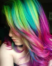 rainbow color hair ideas 5 minutes with ursula goff talking about life as a rainbow hair