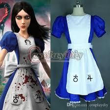 custom made alice madness returns alice cosplay costume fancy