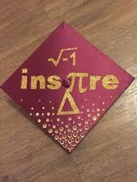grad math math graduation cap design obsession cap