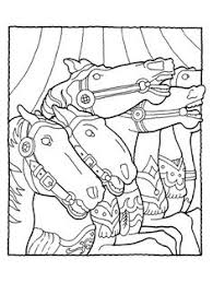 merry go round coloring pages free carousel horse coloring pages 3 free printable coloring