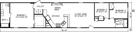 100 single wide mobile home floor plan single wide mobile