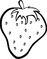nature and food types coloring pages