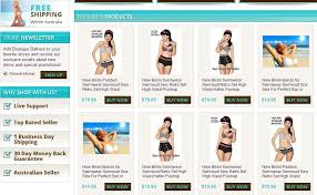 boutique bathers wows customers with new ebay store design