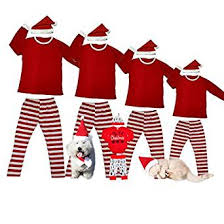matching pajamas for family and and