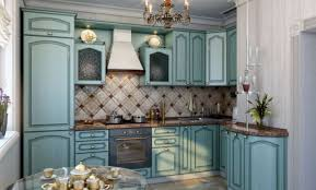 Blue Kitchen Tiles Ideas - fresh look of blue kitchen style to getting tropical nuance in wet
