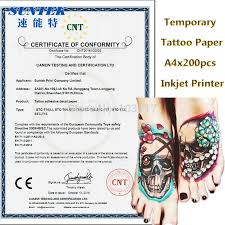 40set lot water slide temporary tattoos paper with ce