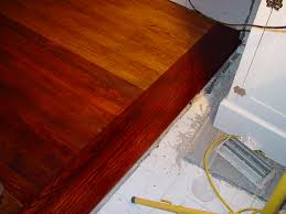 Different Colors Of Laminate Flooring Floor Refinishing Matching Old And New Our Kitchen Disaster