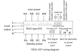 diagram 4 pole ats wiring diagram simonand