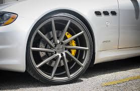 lexus yellow brake calipers customized maserati quattroporte gts exclusive motoring miami
