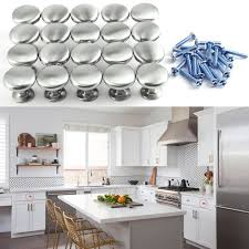 boutons de porte de cuisine 20x boutons porte tiroir en poignée placard armoire meuble cabinet