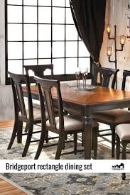 rectangular dining room sets 140 best dining images on pinterest side chairs dining tables
