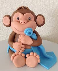 monkey cake topper 54 best pretty baking images on fondant cakes cupcake