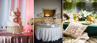 rentals for weddings wedding linen rentals wedding linens creative coverings