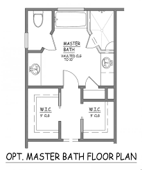 design bathroom floor plan i like this master bath layout no wasted space efficient
