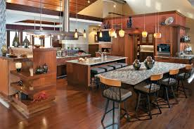modern open kitchen ideas and design with nice led lighting home