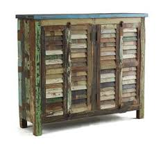 Upcycling Old Windows - dishfunctional designs upcycled new ways with old window shutters
