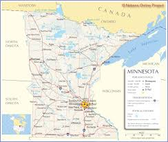 Illinois Map Of Cities by Reference Map Of Minnesota Road Maps Of The United States