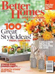 homes gardens smartness inspiration better homes gardens magazine innovative
