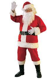 santa claus suits flannel santa suit